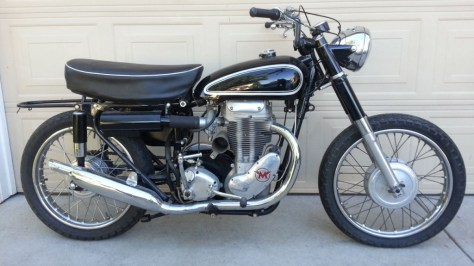 Matchless G80TCS Typhoon - Right Side