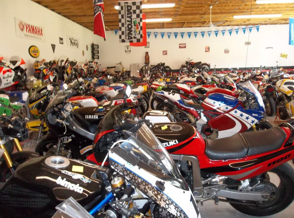 Charlie Mavros Estate Auction of 200+ Motorcycles