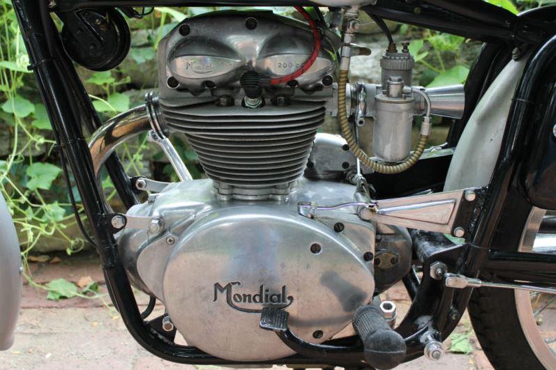 Mondial 200 Super Sport - Engine