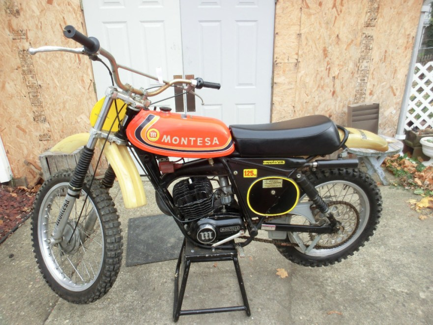 Montesa Cappra 125 VA - Left Side