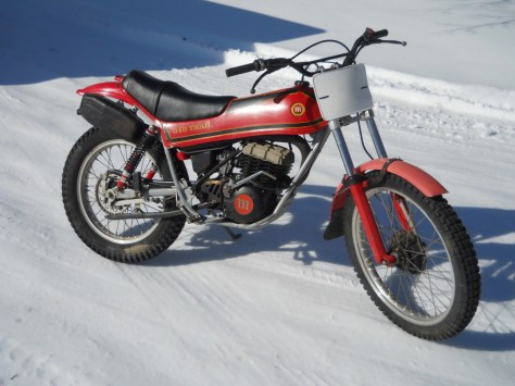 Montesa Cota 348 Trail  - Right Side