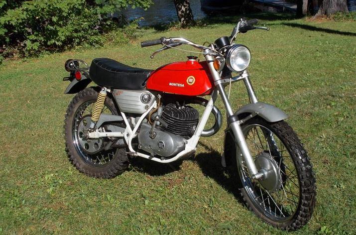 Montesa King Scorpion 250 - Front Right