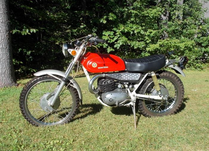 Montesa King Scorpion 250 - Left Side