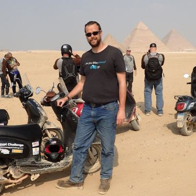 Monty Egypt Bike-urious T-Shirt