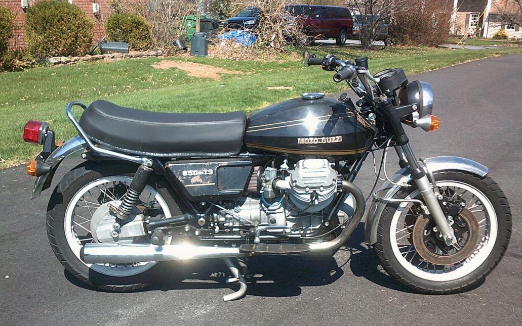 getting cheaper 1976 moto guzzi t3 bike urious. Black Bedroom Furniture Sets. Home Design Ideas