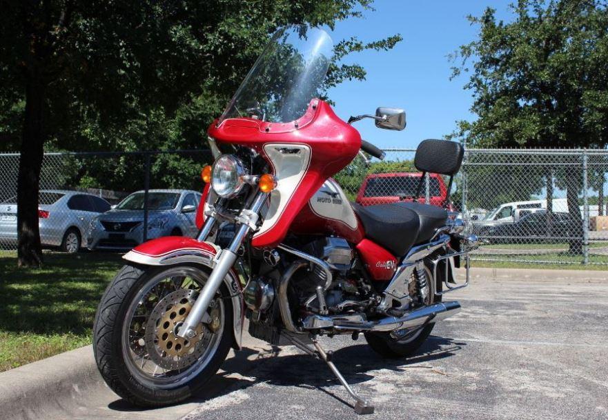 2001 moto guzzi california ev 1100 touring | bike-urious