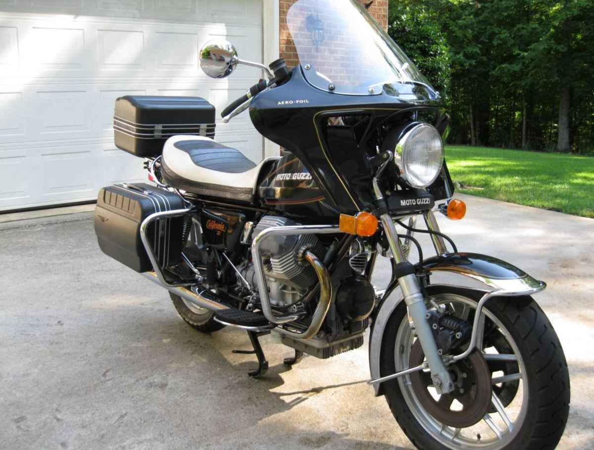 gentleman s tourer 1985 moto guzzi california ii bike. Black Bedroom Furniture Sets. Home Design Ideas