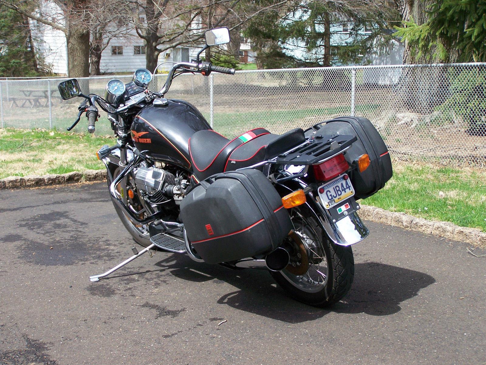 one owner 1989 moto guzzi california iii bike urious. Black Bedroom Furniture Sets. Home Design Ideas