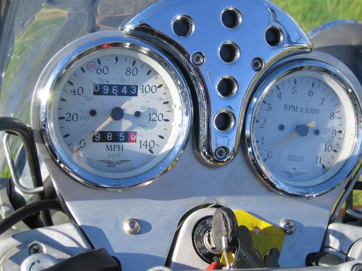 Moto Guzzi California Police - Gauges