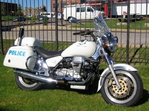 Moto Guzzi California Police - Right Side