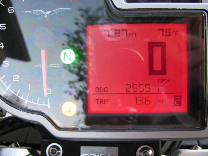 Moto Guzzi Griso SE - Gauges