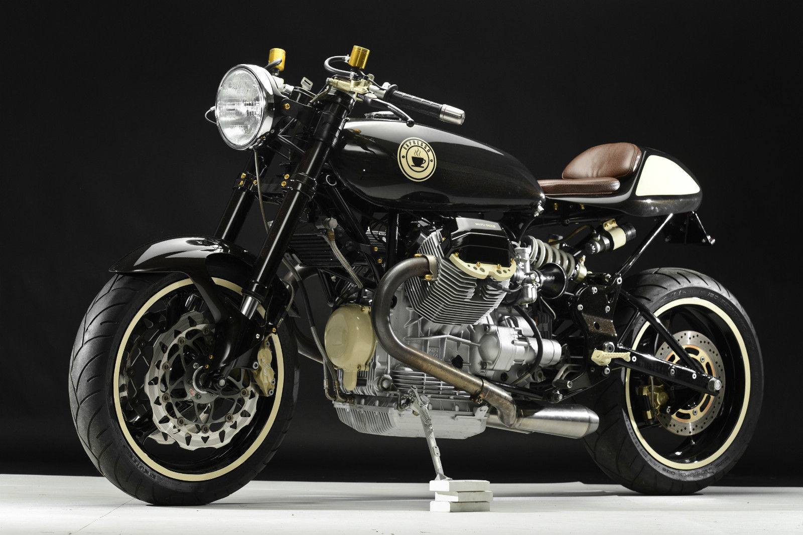 2003 Moto Guzzi Lemans Cafe Racer Bike Urious