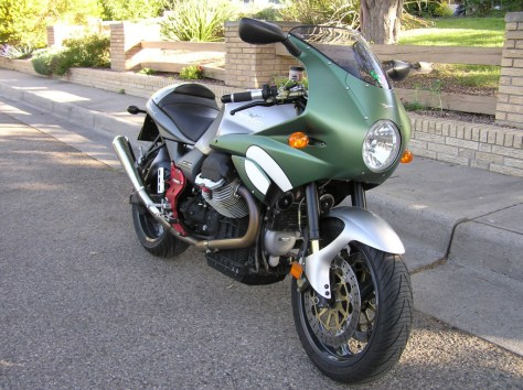 Moto Guzzi LeMans Tenni - Right Front