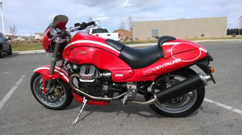 Moto Guzzi V10 Centauro - Left Side