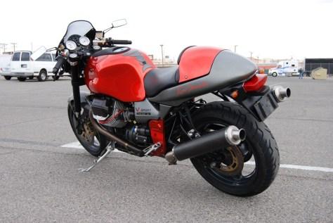 Moto Guzzi V11 Sport Rosso Mandello - Left Rear