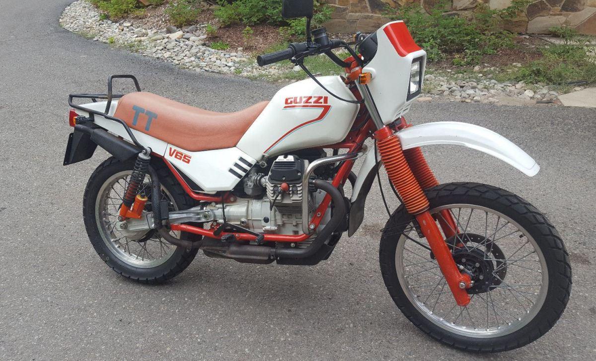1985 Moto Guzzi V65 TT