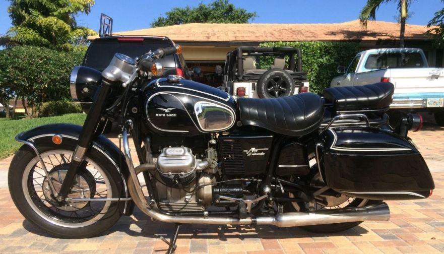 1970 moto guzzi v7 ambassador | bike-urious