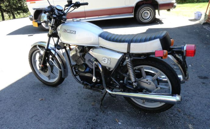 Moto Morini 3 1 2 - Left Side