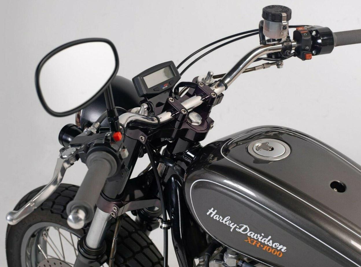 Mule Motorcycles Street Tracker 1984 Harley Davidson Xr1000 Bike Urious