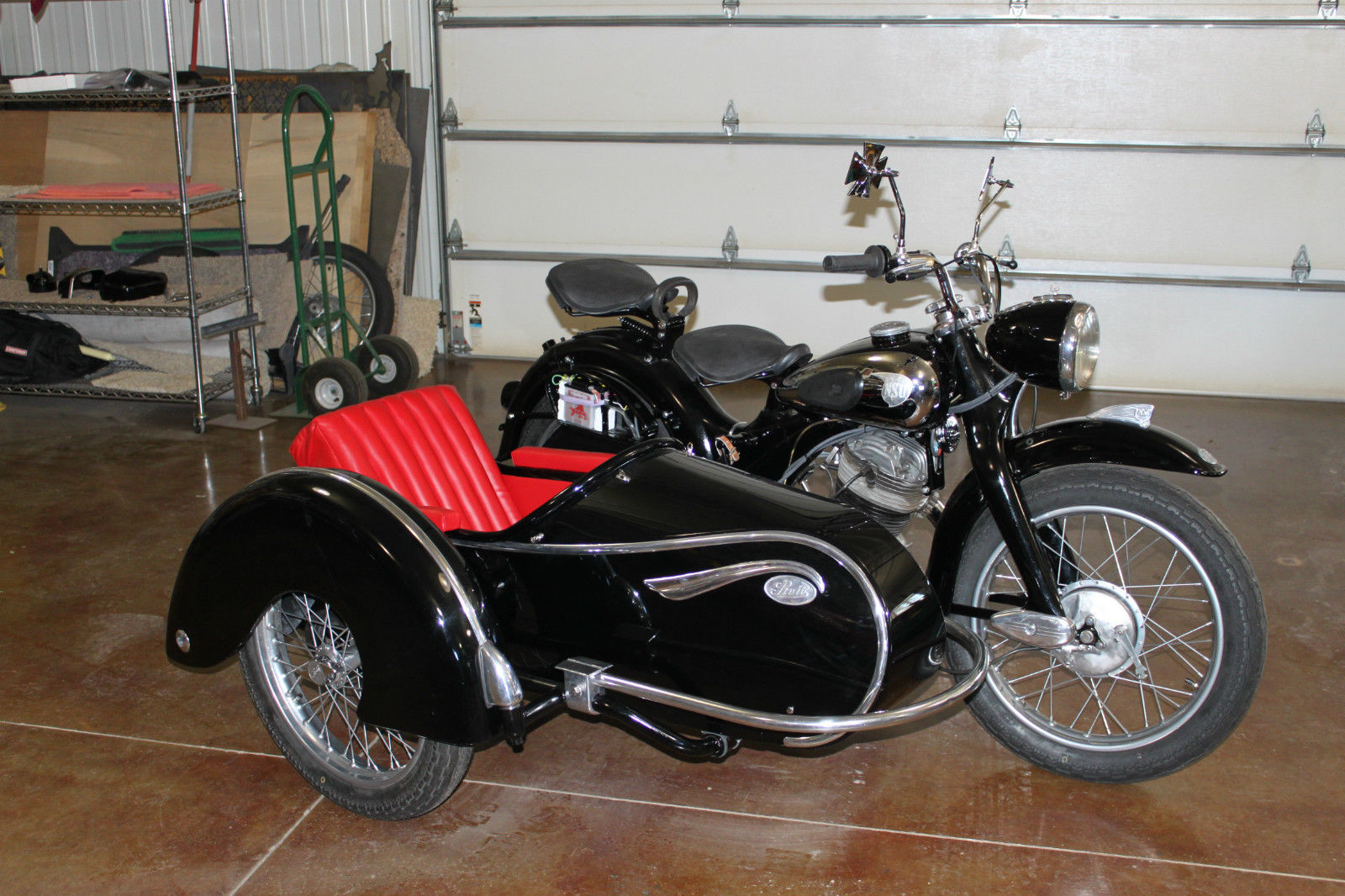 1954 nsu max with steib ls200 sidecar bike urious. Black Bedroom Furniture Sets. Home Design Ideas