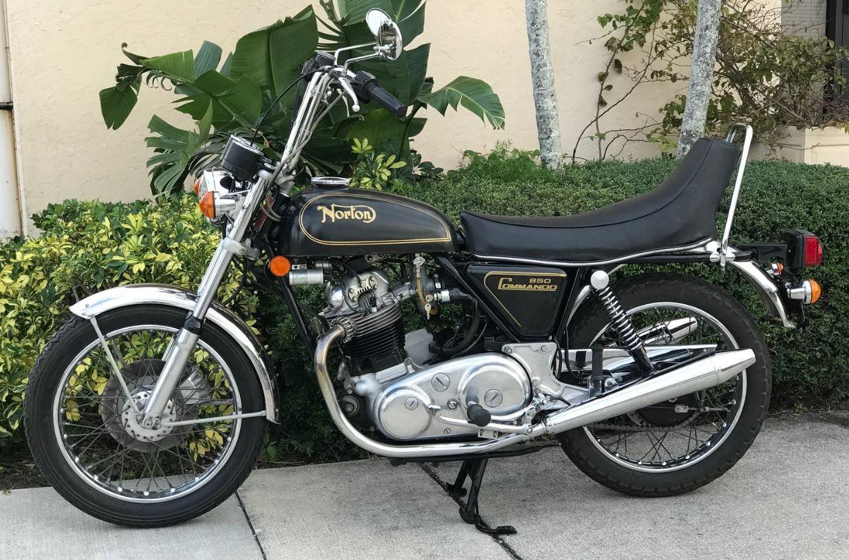 1974 Norton Commando Hi-Rider