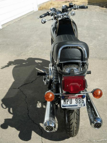 Norton Commando Interstate - 4