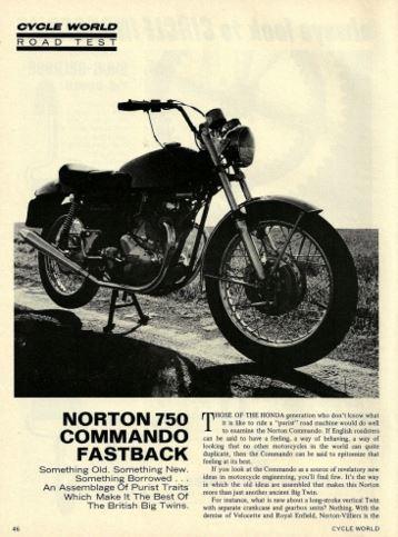 Norton Commando Review