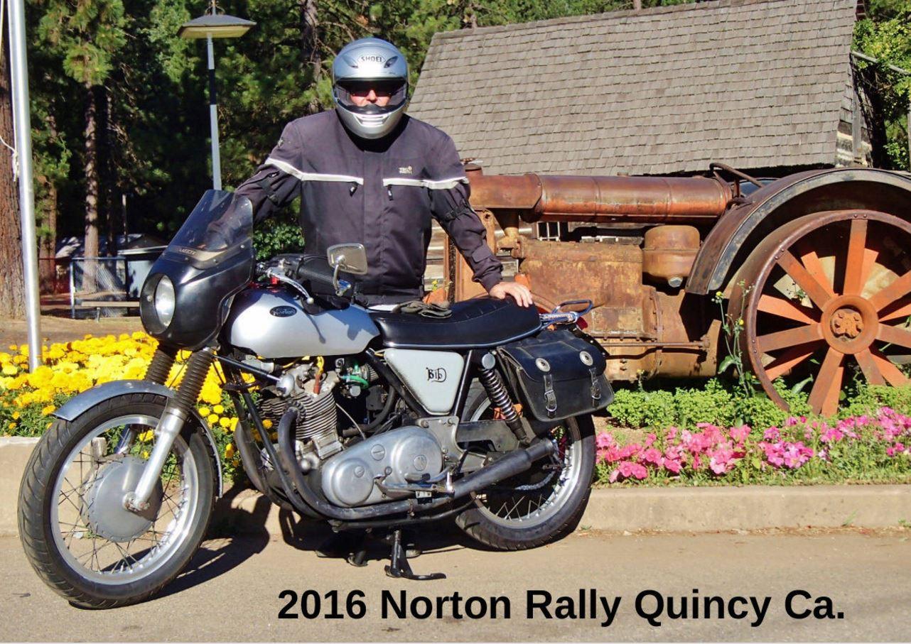 Norton Commando Tourer Left Side