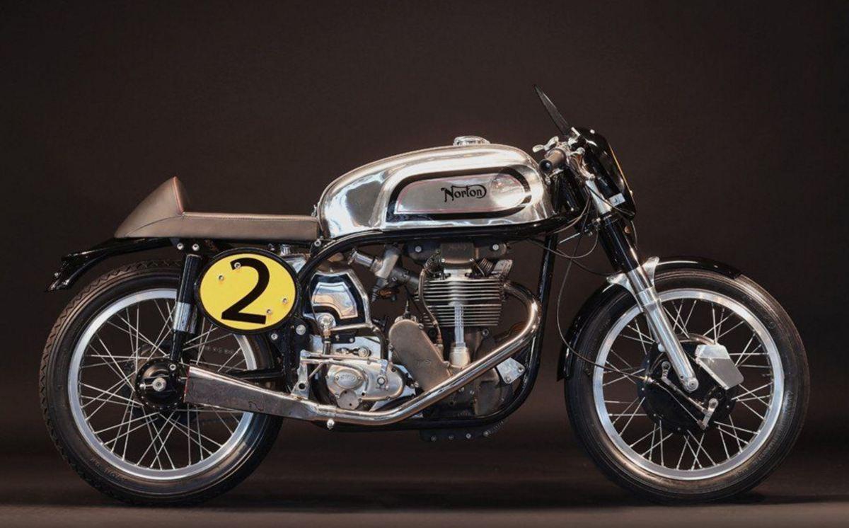 1956 Norton Manx 350