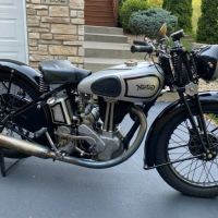 No Reserve - 1937 Norton Model 50