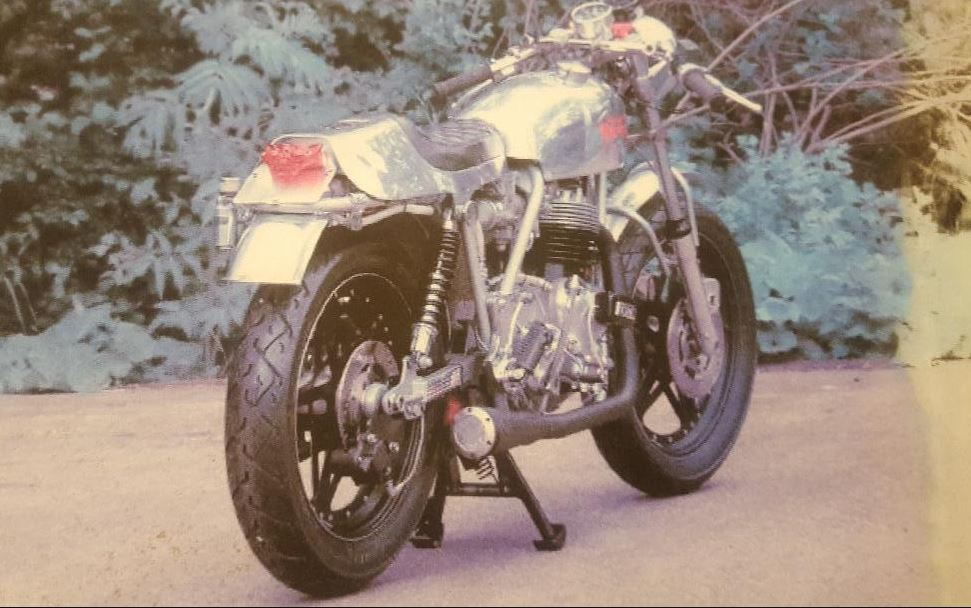 Nourish Weslake Project - 1974 Norton Commando Custom