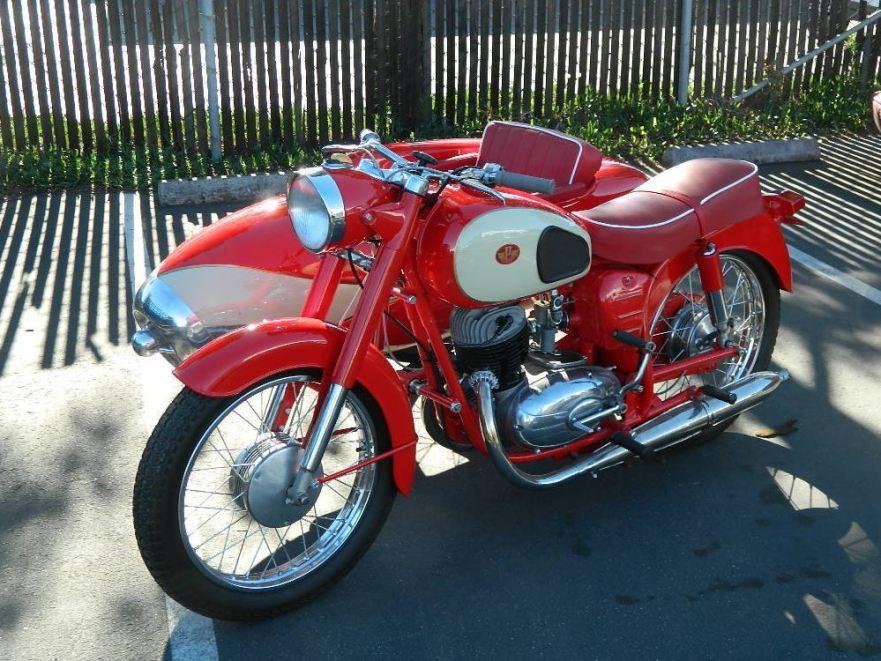 1968 Pannonia T5 with Duna Sidecar – Bike-urious
