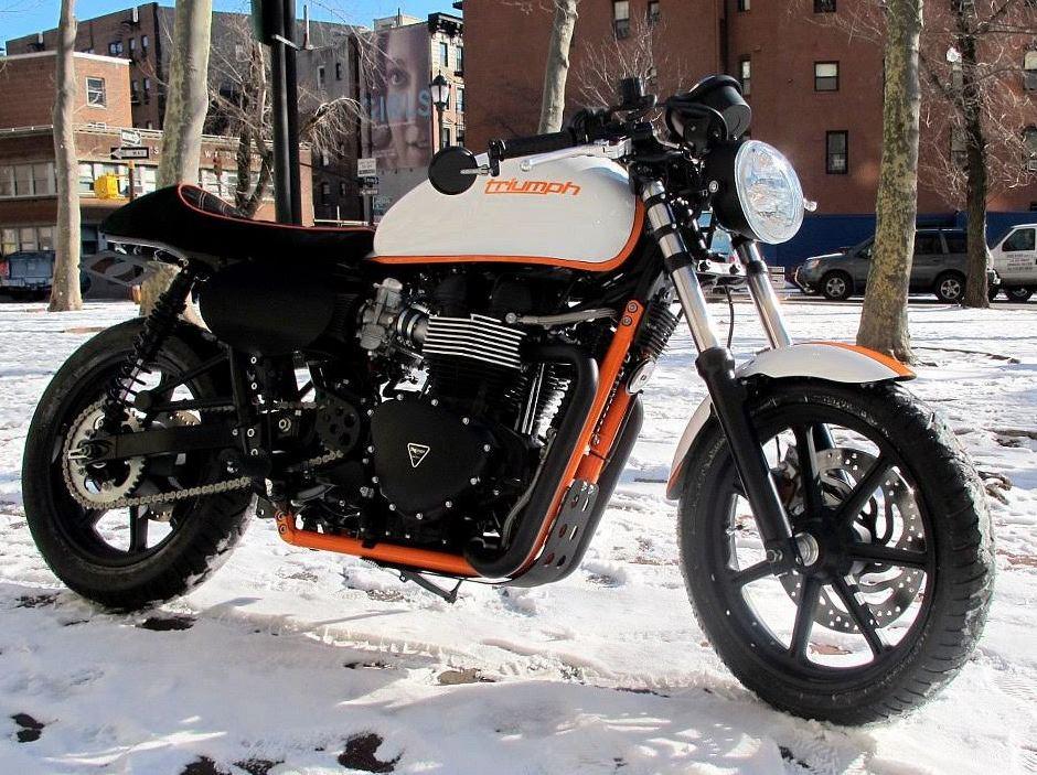 """Project Mayhem"" - 2013 Triumph Bonneville Custom"