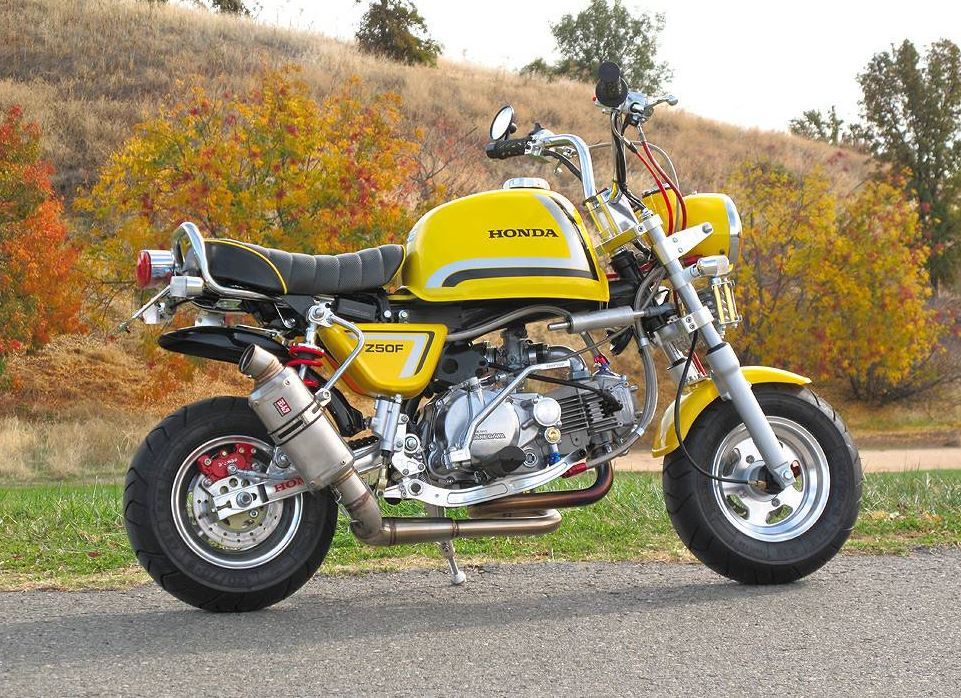 Project Woodstock – Honda Z50 Custom   Bike-urious