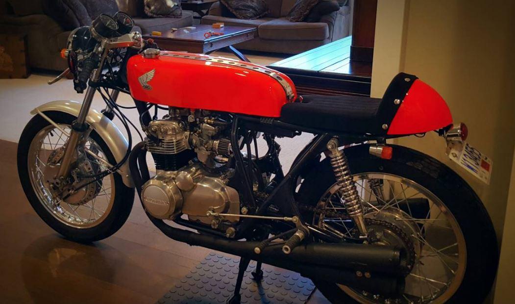 RC162 Inspired – 1973 Honda CB350 Custom
