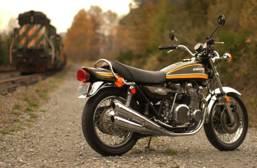 Restored Kawasaki Z1 - Right Side