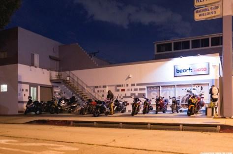 Rev'It Event at Beach Moto - Bikes