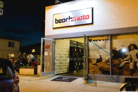 Rev'It Event at Beach Moto - Front Door