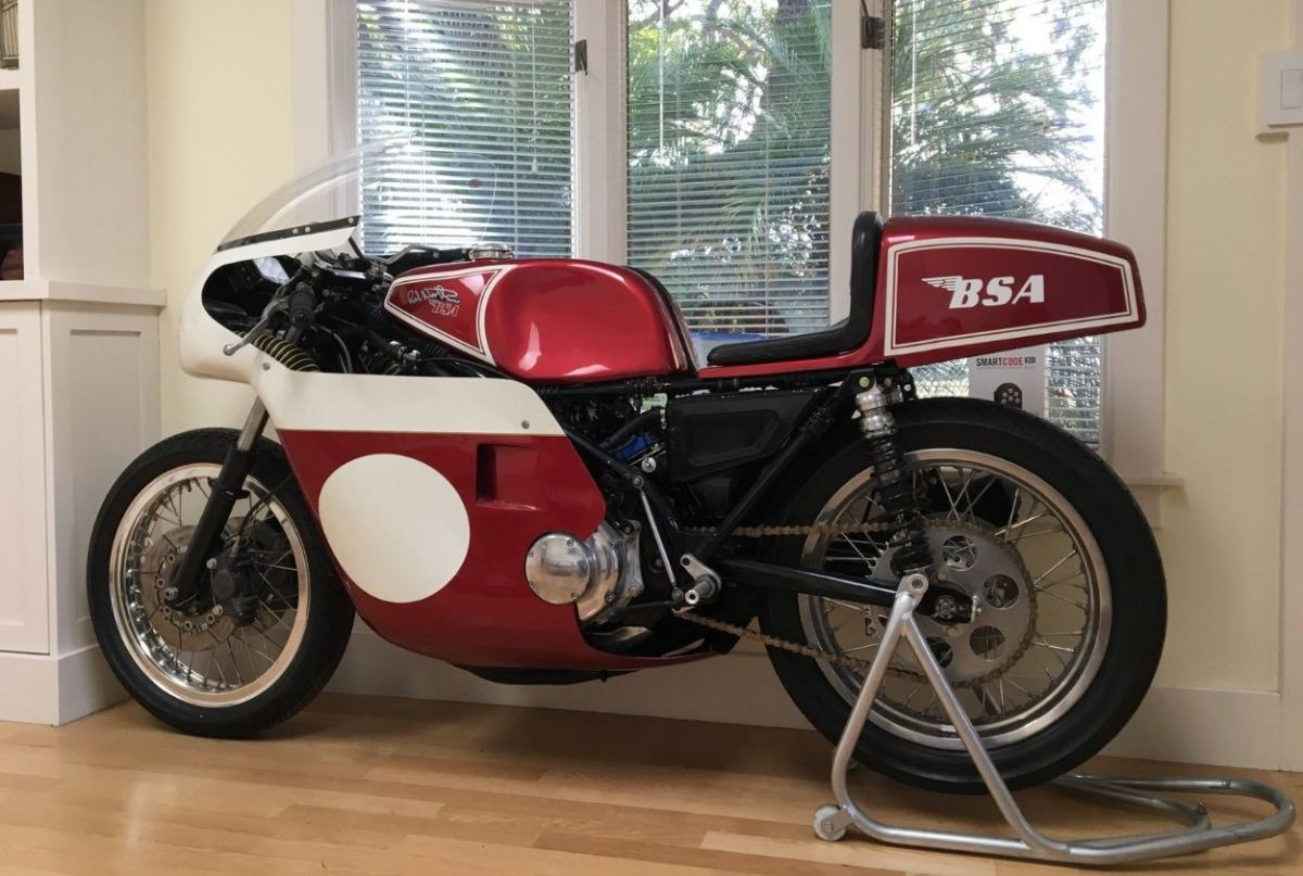 Rob North Frame - 1971 BSA Rocket 3 Racer