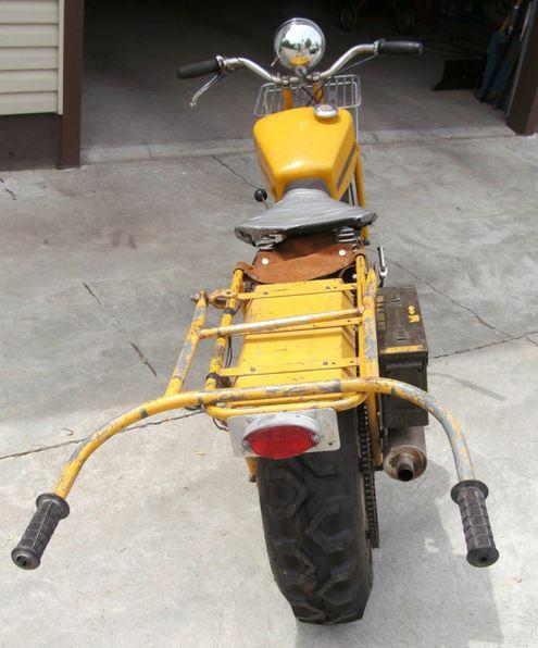 Rokon Trailbreaker - Rear