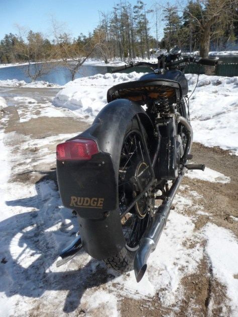 Rudge Ulster - Rear