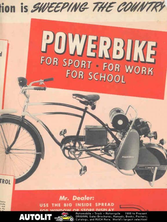 Sears Powerbike - Advertisement