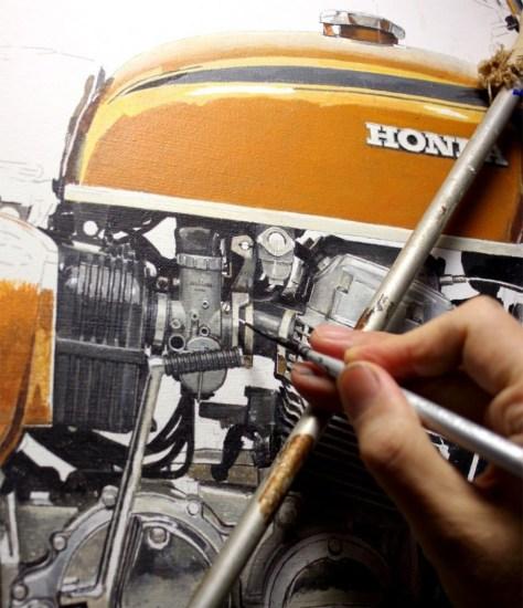 Seevert Works -  Honda Painting