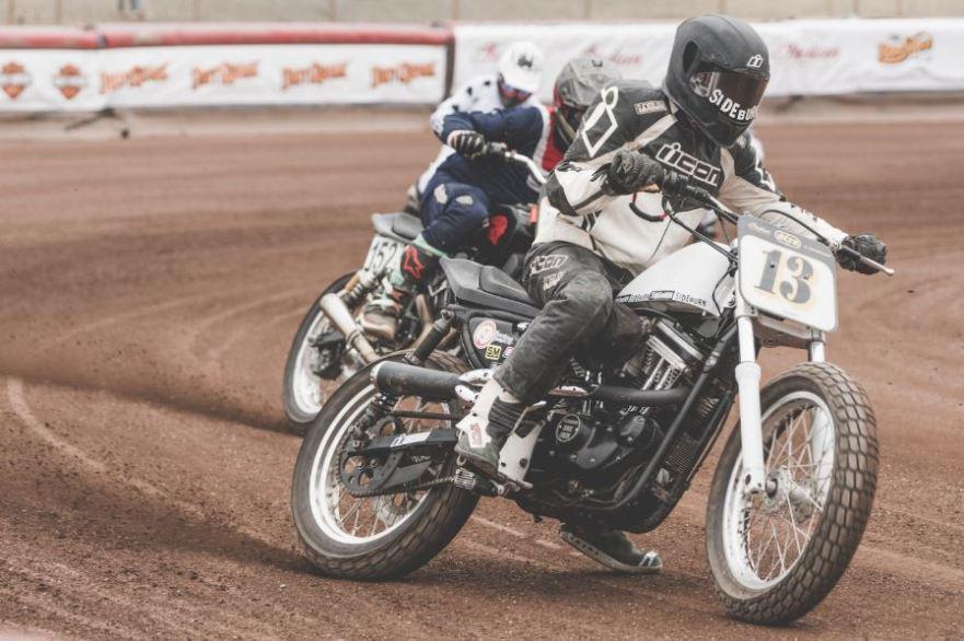 Harley Flat Track >> Sideburn Magazine S Hooligan Flat Track Racer 1991 Harley