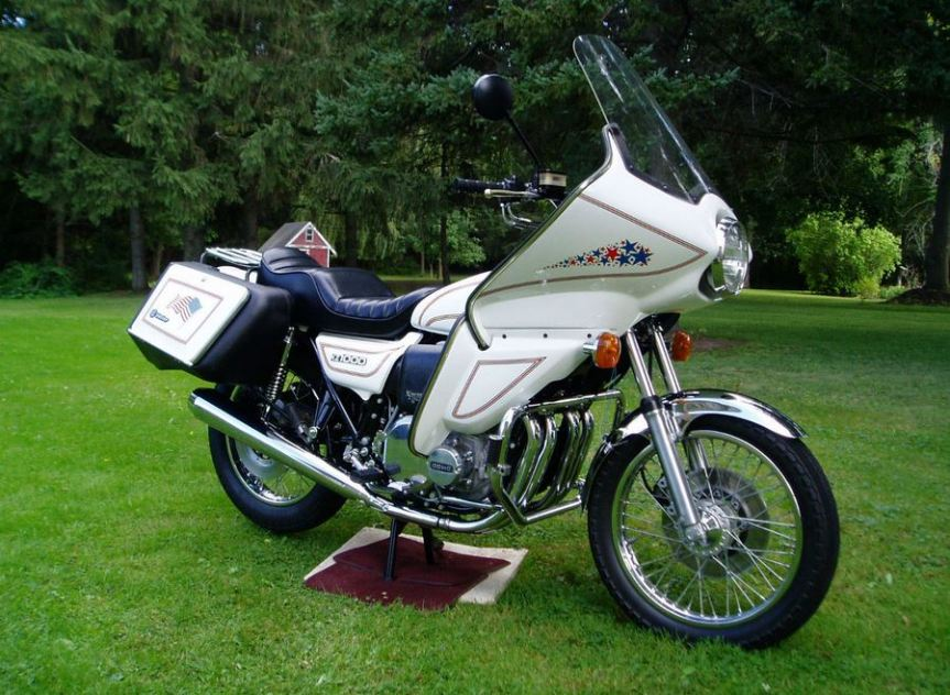 Spirit of America – 1978 Kawasaki KZ1000 – Bike-urious