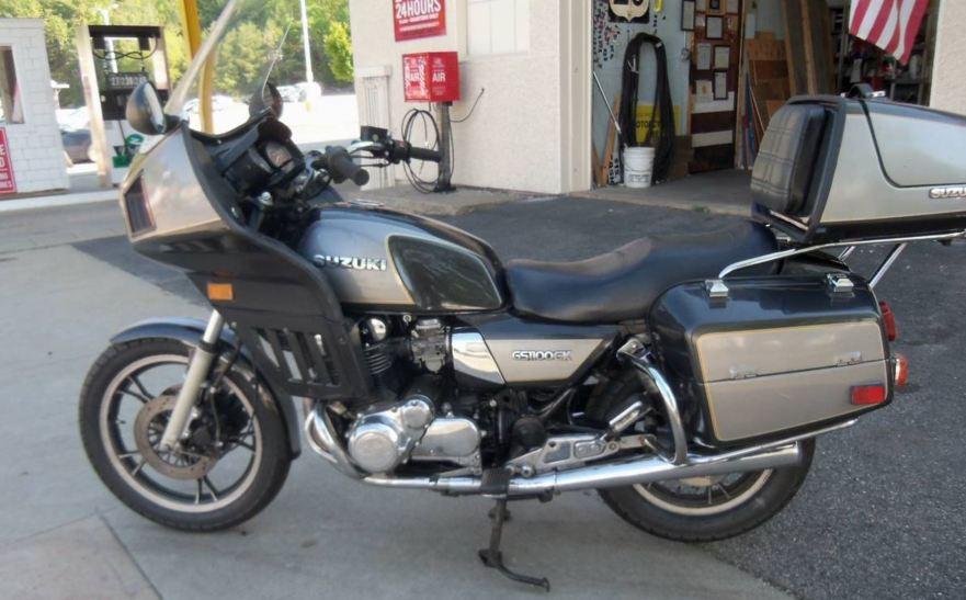 1984 Suzuki GS1100GK – Bike-urious