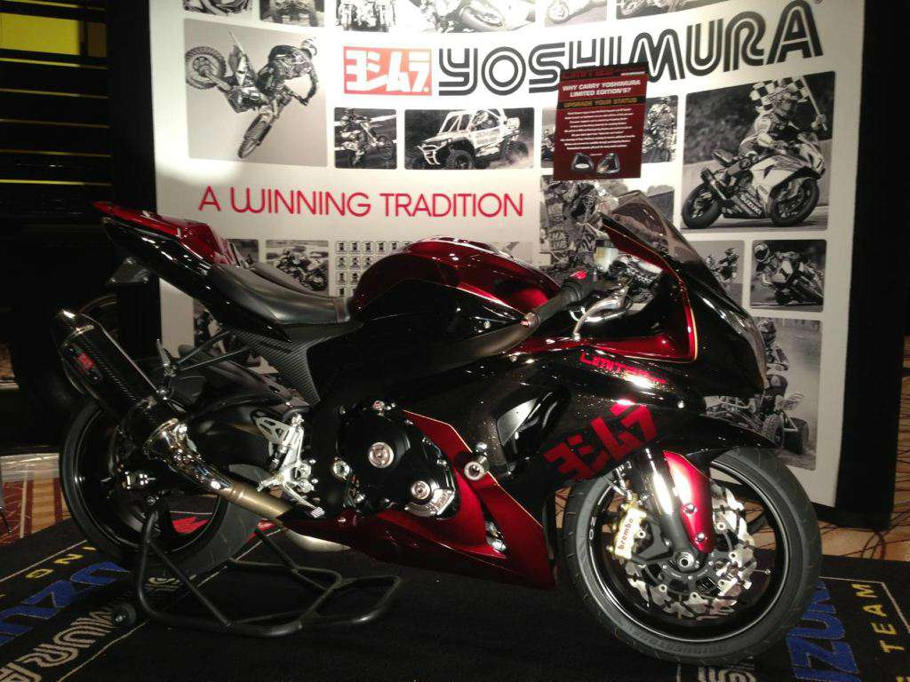 1 of 15 2013 suzuki gsx r 1000 yoshimura limited edition. Black Bedroom Furniture Sets. Home Design Ideas
