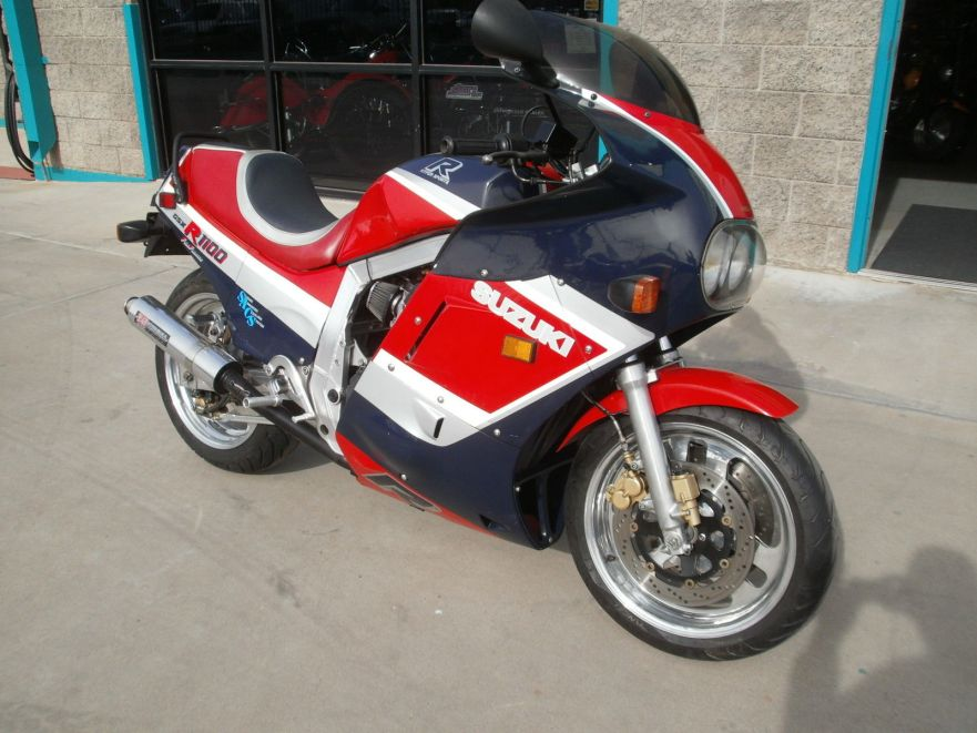 Gixxer Tourer – 1986 Suzuki GSX-R 1100 – Bike-urious