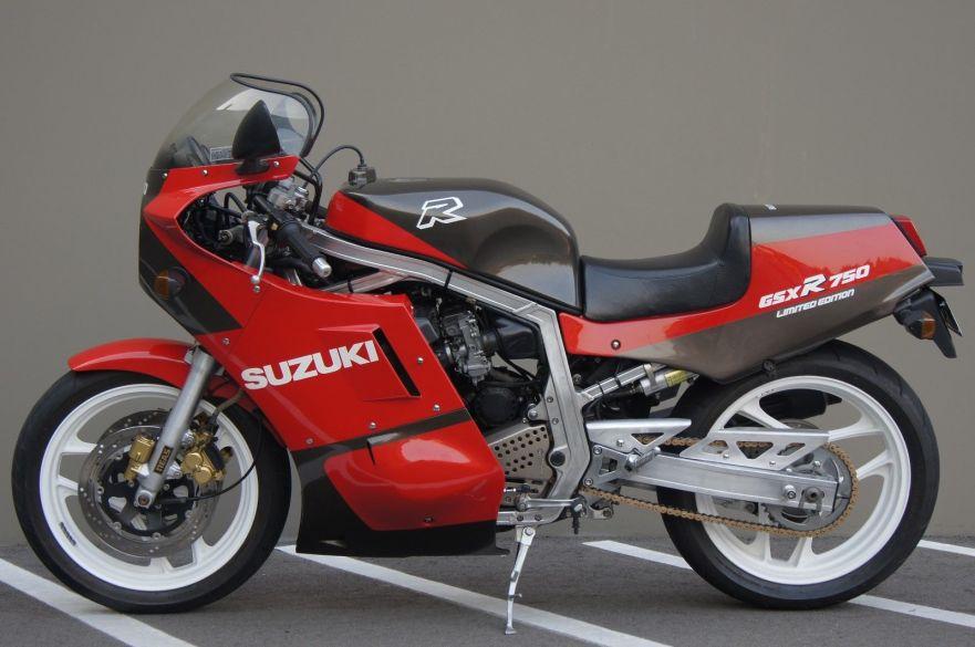 Japan Only – 1986 Suzuki GSX-R 750 Limited Edition – Bike-urious