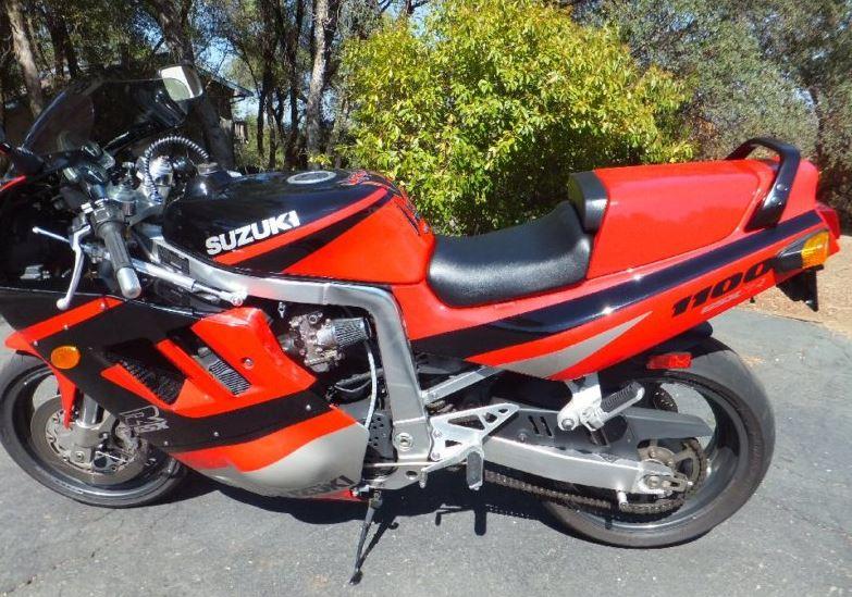 Suzuki GSX-R1100 - Left Side